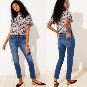 Ann Taylor Loft Modern Straight Jeans Size 6
